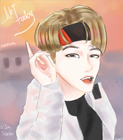 Not Today- Taehyung by Jen-senpai