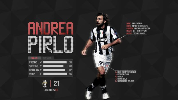 Andrea Pirlo by thriller008
