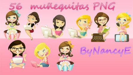 Pack Nenitas Png by NancyEditions