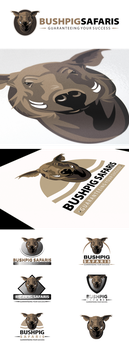 Bushpig Safaris Logo Design by An1ken