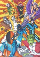 The All New Uncanny X-Titans by RobertMacQuarrie1