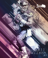 Russell Wilson by Stealthy4u