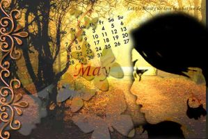 Digital Media - Calender May by JasChester