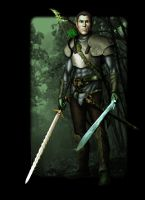 Scourge, wood elf ranger by francisrpnavarro