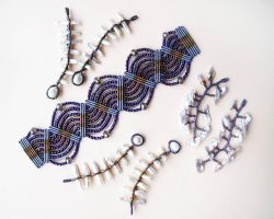 Macrame and Beadwork by borysbrytva