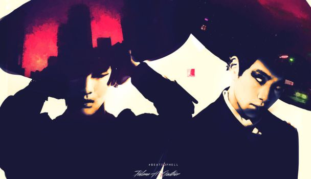 Red  (Onew And Key) by PalomaGouthier