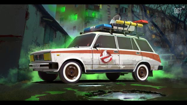 Ghostbusters by Dragonnick741