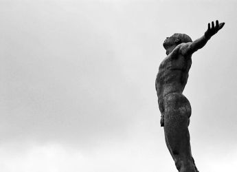 UP Diliman, Oblation statue by geekdope