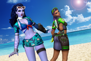 Talon Beach Girls by dnxpunk