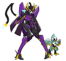 Re-Formers - Lucia and Hoffi by PainfulElegy