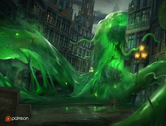 Gelatinous Terror by TitusLunter