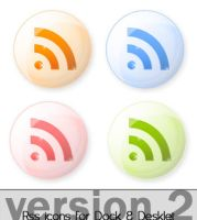 Rss Icons Orb v2 by nam0