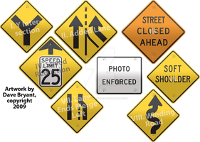 Chapter-title road signs II by Catspaw-DTP-Services