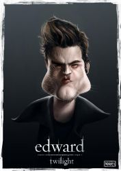 Edward from twilight by Norke