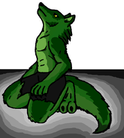 Emeraldwolf by Aureawolf