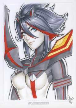Ryuko Matoi SDCC '14 by WarrenLouw