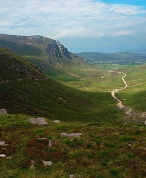 The Trassey Track, Mourne Mtns by younghappy