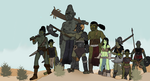 Orc warband by TheReptilianGeneral