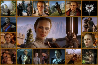 Inquisitor Reanna Trevelyen Collage by wavejumper60