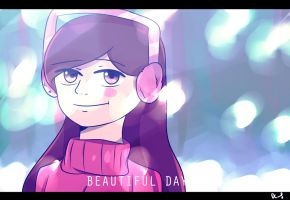 Winter Falls AU- Mabel by DarkCatz