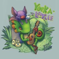 Yooka-Laylee by Artsenseiofdreams
