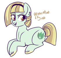 Adoptable: Winter Mint  $5 by lulubellct