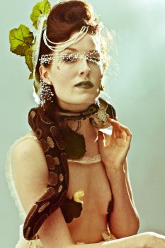 Melissa and the Snake by photosynthetique