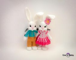 Jeannot et Jeannette by Crocsbetty