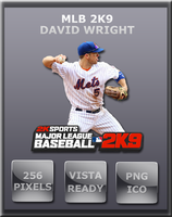 MLB 2K9 David Wright by Dirtdawg90