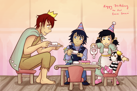 [Fan Art] Birthday Party for Cici by Saari