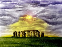stone henge by thematthewholland