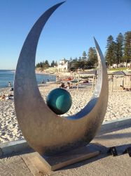 Sculpture of Cottesloe beach 2017 by Saraeustace91