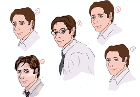 Mulder Eyes Experiment by alicelights