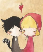 Mr and Mrs Ridinghood by PalletsArt