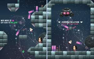 Unnamed Space Shooter Game WIP by Raindropmemory