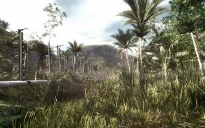 Source Engine 2007 Jungle Game level by fluxcreations