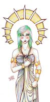 Priestess by delightedmuse
