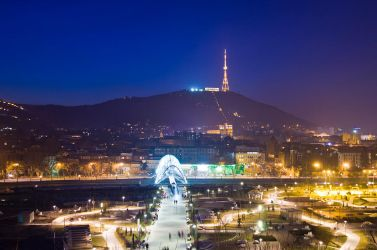 Tbilisi by Night by oktis