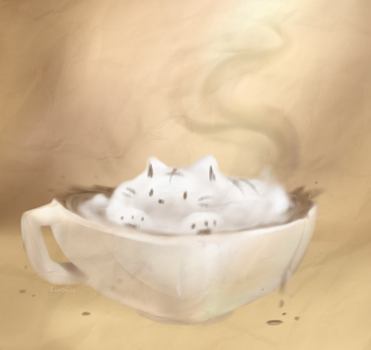 Catpuccino by LostOasis