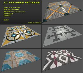 Free 3D Textures Pack 01 by Yughues