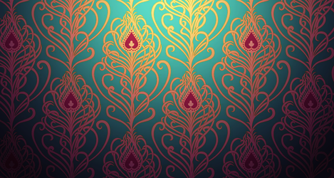 Floral Damask by mia77
