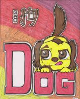 Year of the Dog - Color by Joygon
