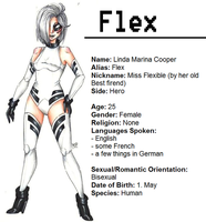 :DC OC: Flex by MikuParanormal