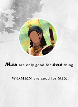 Men Are Only Good For One Thing by actualpuppykillian