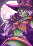 Zombie Witch by XxSacrosimxX