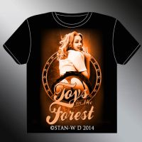 TOYS IN THE FOREST - T-Shirt model by stan-w-d