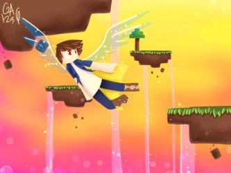 Contest entry- To fly like I have wings by Gameaddict1234