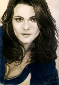 Rachel Weisz by mrsloreen