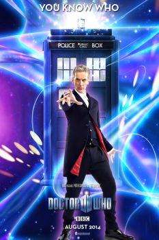 Doctor Who Season 8 Teaser Poster You Know Who by DogHollywood