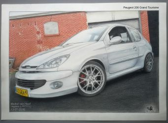Peugeot 206 Grand Tourisme_Final by Laggtastic